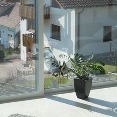 Fenster mit Aludeckschale